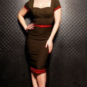 Pinup Couture Military Wiggle Dress